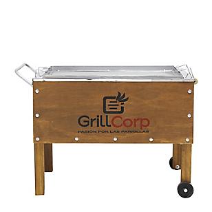 Grill Corp Caja china Mediana Acero Galvanizado Línea Clásico