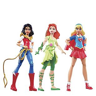 3 pack de Superheroínas