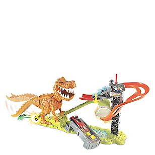 T-Rex & 18 autos
