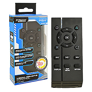 Control Remoto Media para PS4 Negro