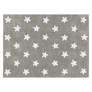 Alfombra Grey Stars Blanco