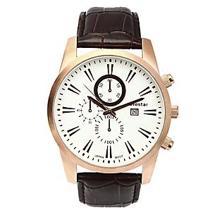 Reloj Hombre Análogo Cuero