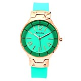 Reloj Mujer Metal Verde