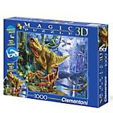Rompecabeza 1000 Dinosaurio 3D