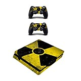 Skin para PS4 Slim Radio Active