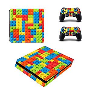Skin para PS4 Slim Lego