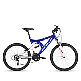 Bicicleta 24 Sierra 18v Dsusp Azul Blanco
