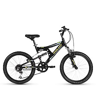 Bicicleta 20 Sierra 6v Dsusp Negro