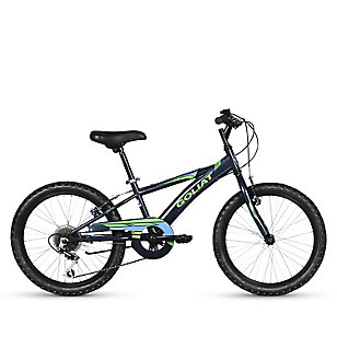 Bicicleta 20 Sierra 6v Negro