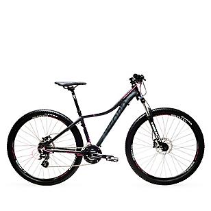 Bicicleta HYDRA 1 24V M Suspensión Negro - Fucsia
