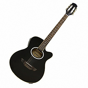 Guitarra E/A Nylon FRA95NCET Negro