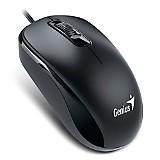 Mouse Dx-110 Usb Optico Negro