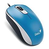 Mouse Dx-110 Usb Optico Azul