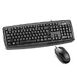 Teclado + Mouse KM-130 USB
