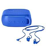 Kit Parlante 300 Bluetooth+ Audífono Azul