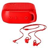 Kit Parlante 300 Bluetooth+ Audífono Rojo