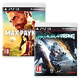 Pack Videojuego para PS3 Metal Gear Rising + Max Payne 3