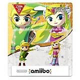 Amiibo Toon Link y Zelda