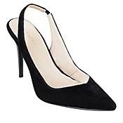 Zapatos Sling Back Velvet Ne