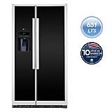 Refrigeradora Side by Side 651 lt PSMN3FFBFBN Negro