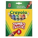 8 Crayones super Jumbo