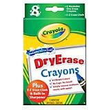 8 Crayones borrables