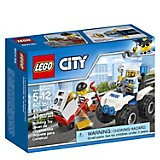 Set Lego City Cuatrimoto de arresto