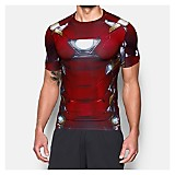 Camiseta Deportiva Iron Man Suit SS