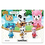 Figuras Amiibo Pack x 3 Animal Crossing