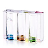 Set de 3 Vasos Long Drink Fondo Color