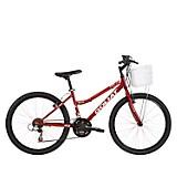 Bicicleta Aro 24 Paracas 18V Rojo