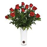 Florero de Rosas x18
