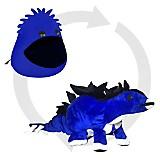 Blobbie Estegosaurio Indigo