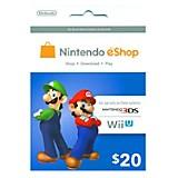 Card Nintendo E-Shop de 20 USD