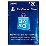 Card PlayStation Store de 20 USD