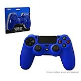 Protector de silicona para Dualshock PS4 Azul