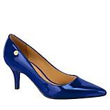 Zapatos de Vestir Verniz Cintila Azul