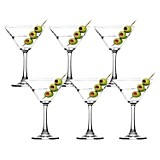 Set de Copas Urban Martini x 6 Piezas