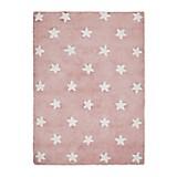 Alfombra Pink Stars Blanco