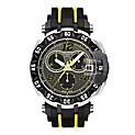 Reloj Hombre Resina Negro/Amarillo