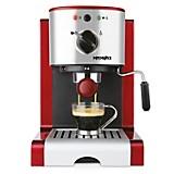 Máquina de Café Expresso y Capuccino 1,25 lt Rojo y Gris