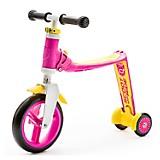 Scooter-Bicicleta de Balance Highwaybaby+ Rosa con Amarillo