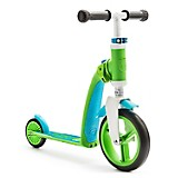 Scooter-Bicicleta de Balance Highwaybaby Verde con Azul