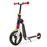 Scooter-Bicicleta de Balance Highwayfreak Blanco con Rosado y Amarillo