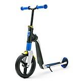 Scooter-Bicicleta de Balance Highwayfreak Blanco con Azul y Amarillo