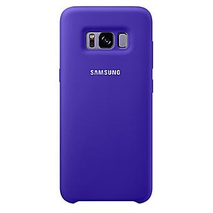 Silicone Cover Galaxy S8 Violeta