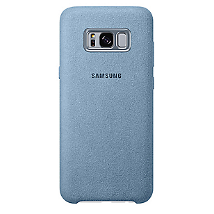 Alcantara Cover Galaxy S8 Plus Menta
