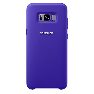 Silicone Cover Galaxy S8 Plus Violeta