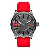 Reloj Hombre Resina Rojo