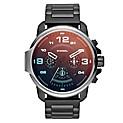 Reloj Hombre Acero Negro